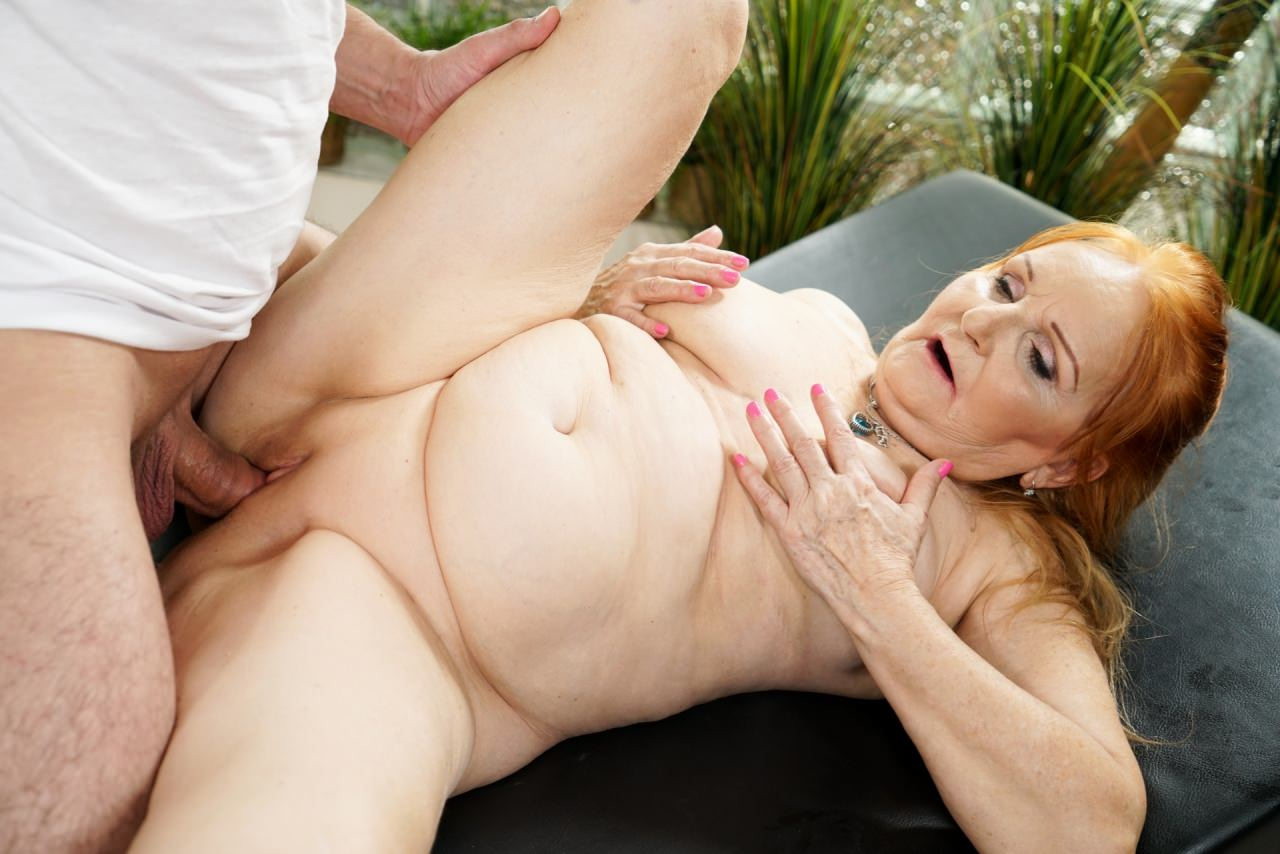 Redhead Granny Porn Pics